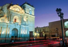 La Iglesia de la Compañía de Arequipa