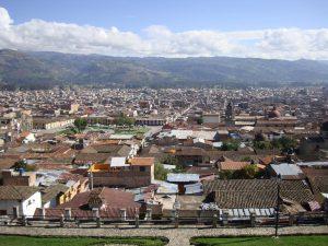 Vista panorámica de Cajamarca