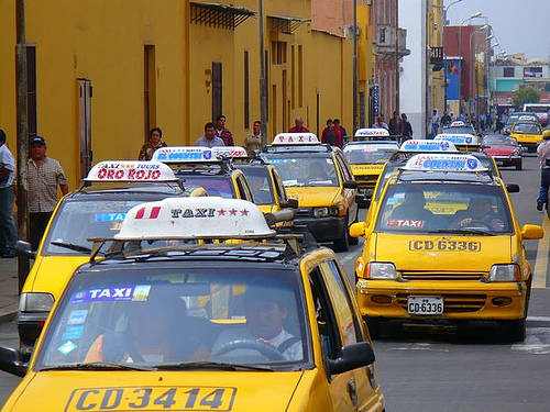 Transporte en Trujillo