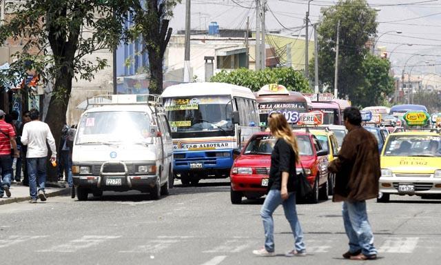 Transporte en Arequipa