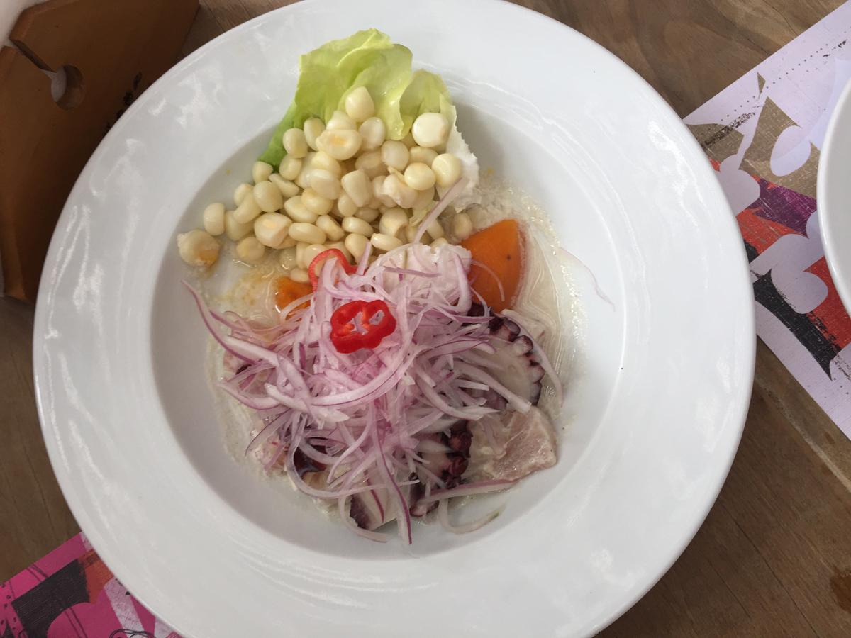 Comer en Lima