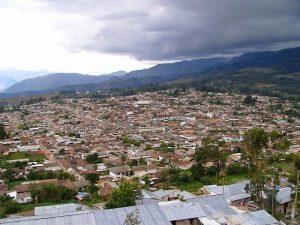 Vista panorámica de Chachapoyas