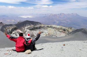 Andinismo en el Volcán Misti