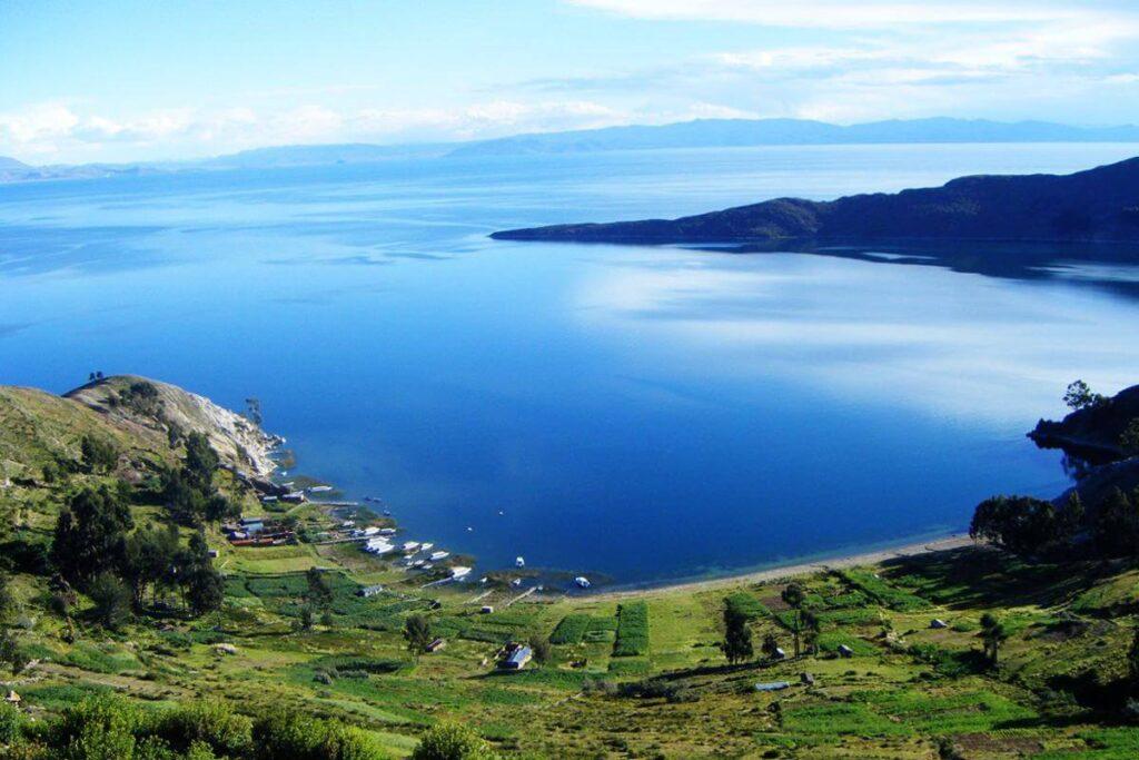 Lago titicaca desde amantani