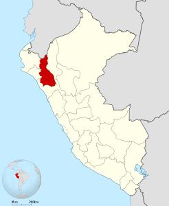 Ubicación Cajamarca