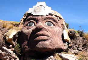 Máscara del Inca Chucuito