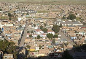 Vista de la ciudad de Juliaca