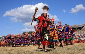 En junio se celebra en Inti Raymi.