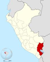 Mapa Puno