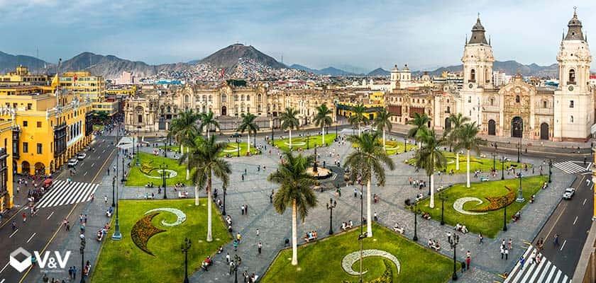 Lugares turísticos en Lima