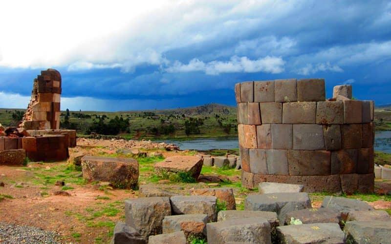 Ubicacion Sillustani Puno Peru